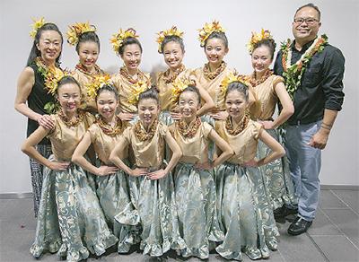 小谷小・石橋さんがハワイへ