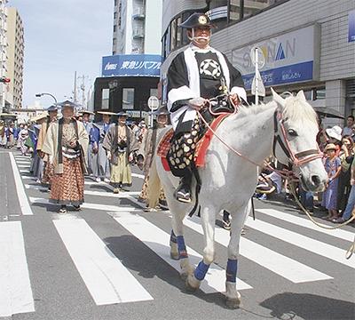 茅ヶ崎で大岡越前祭