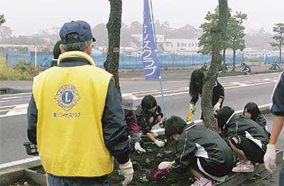 花植えボランティア募集