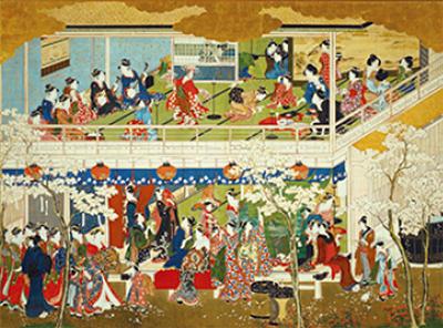 「歌麿の深川の雪・吉原の花」展