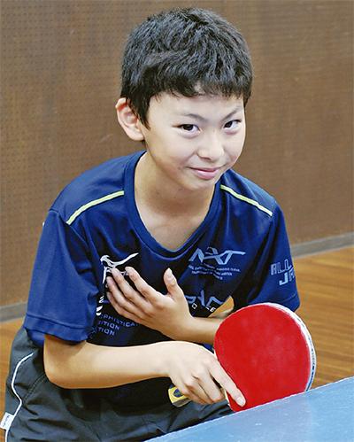 卓球で全国大会へ