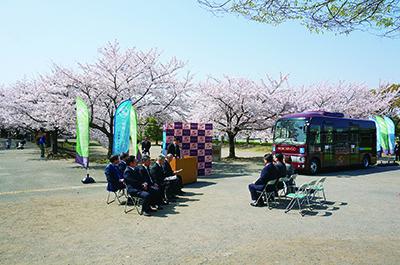 桜の下で2つの発表会