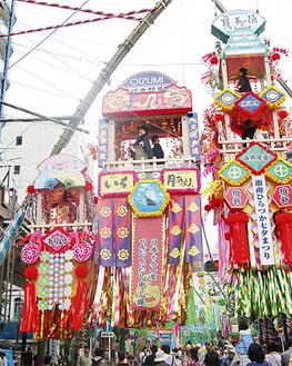 平塚最大の催事である七夕まつり。電力需給や警備態勢などの課題が開催のネックとなっている。