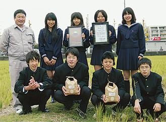 園芸科学科の生徒たち