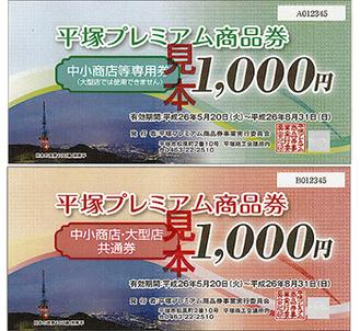 平塚プレミアム商品券