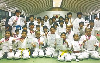 出場した柔道協会の選手