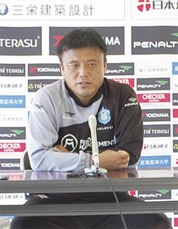 来シーズンの続投を表明した曺監督