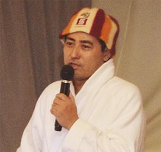 講演する太田氏