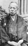 妹の嫁ぎ先の神戸で撮影されたと思われる準造の写真