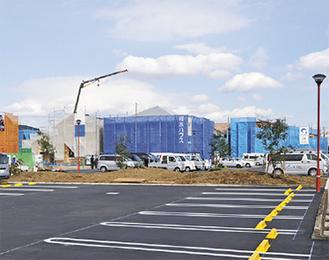 建設中の現場