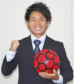 代表に選出された岡田さん