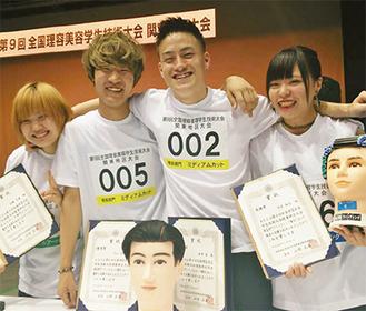 左から内藤さん、宇山さん、金井さん、守屋さん