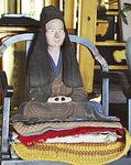 宗源寺にある坐像