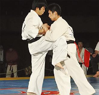 連覇が期待される篠宮選手(左)
