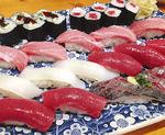 板長が握る寿司も人気