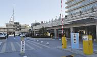 新庁舎駐車場が供用開始