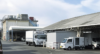 平塚茅ヶ崎魚市場の施設