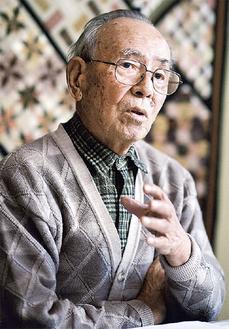 原寿雄さん(提供写真)