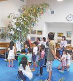 七夕飾りと竹細工教室