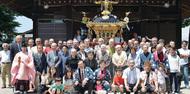 真田神社の神輿改修
