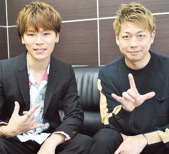 TATSUさん(左)とSHINGOさん