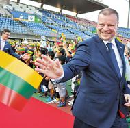 リトアニア首相が平塚訪問