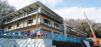 建設中の新施設「県動物愛護センター」