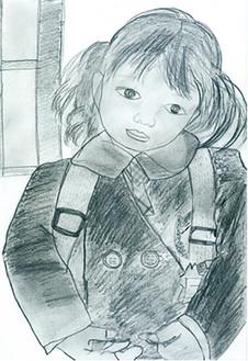 金賞に輝いた作品「これから幼稚園!」。(公式HPより抜粋)
