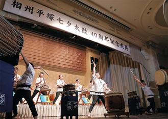 式典で披露した『組曲七夕』の演奏
