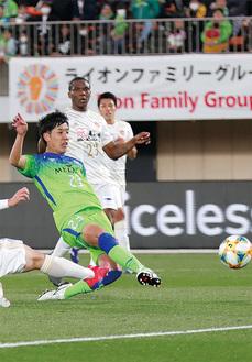 J1初出場で初ゴールを決めた小野田