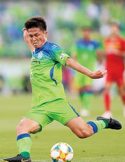 日本代表に選出された杉岡選手