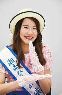 得意の手話で「ありがとう」を表現した平井さん