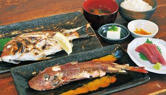 焼・煮魚を選べる刺身付きの「大磯港ランチ」/写真はイメージ