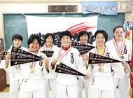 県総体で団体3連覇