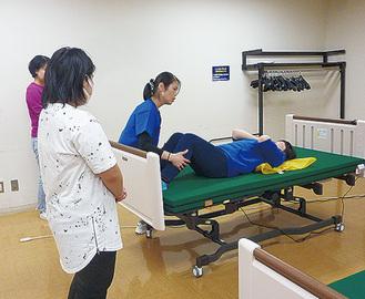 介護技術の再確認