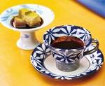 自家焙煎の豆で淹れるコーヒーと甘味のセット