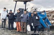 平塚の海を有志が清掃