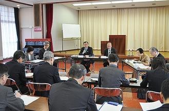 17日の総合教育会議