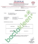 FDA(米国)やSGS(スイス)など各国認証機関認定のバクタクリーン