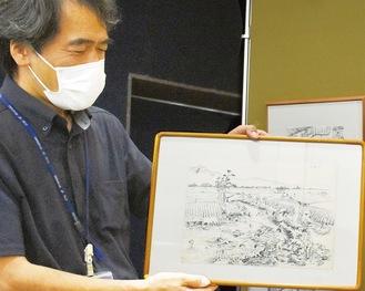 展示される佐草さんの作品の一部