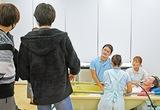 高浜高で介護授業