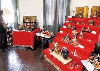 約50体の人形が飾られている応接室緊急事態宣言中の開館は9時〜20時(月曜休館)