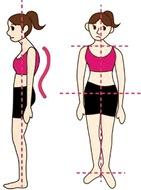 姿勢改善で健康に