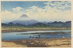 東海道風景選集 馬入川 1931年