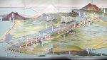 箱根や高尾山も描いた全体像