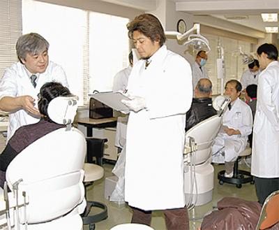 無料口腔がん検診実施