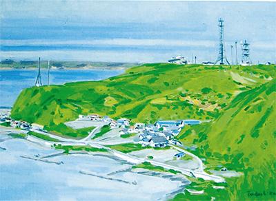 夫婦で描いた北海道の風景