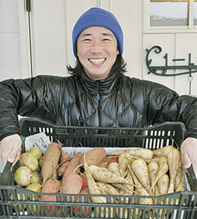 笑顔と野菜福島に届け