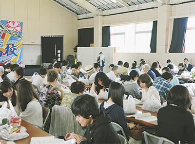 高浜高校で総会