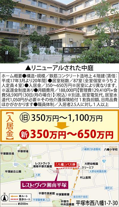 レストヴィラ湘南平塚がリニューアルオープン